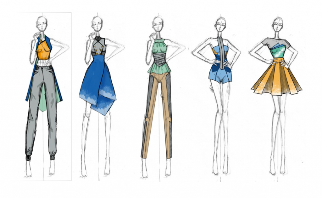 Seams Geeky Collection sketches