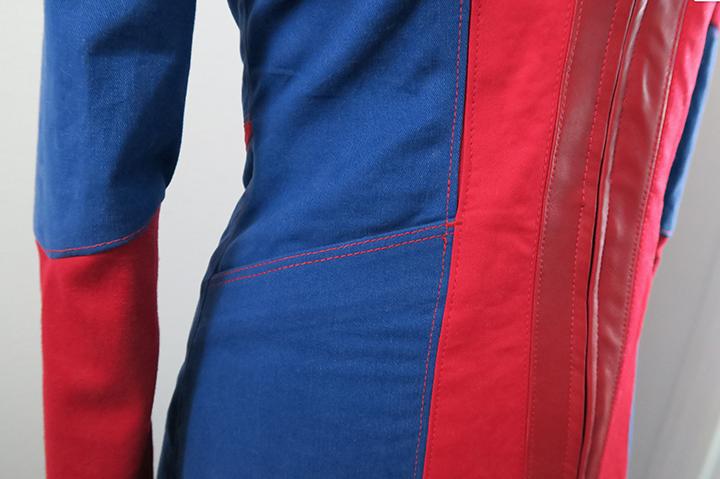 Seams Geeky Cosplay Spider-Man coat
